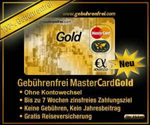 mastercard gold gebührenfrei